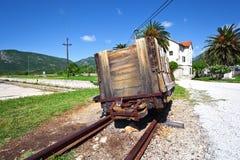 Saltworks in Ston. Croatia. Royalty Free Stock Photos