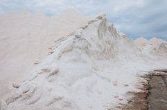Saltworks van S Trenc in Mallorca, Spanje Stock Afbeeldingen