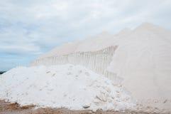 Saltworks van S Trenc in Mallorca, Spanje Royalty-vrije Stock Foto's