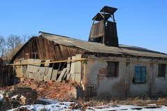 Saltworks w Drohobych, Ukraina, jest stary jeden w Europa Obrazy Royalty Free