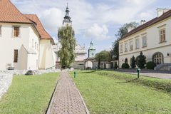 Saltworksslott i Wieliczka nära Krakow Royaltyfri Bild