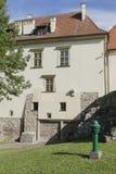 Saltworksslott i Wieliczka nära Krakow Arkivbild