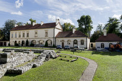 Saltworksslott i Wieliczka nära Krakow Royaltyfri Foto