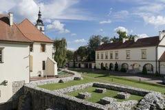 Saltworksslott i Wieliczka nära Krakow Fotografering för Bildbyråer