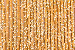 salty breadsticks background pattern Royalty Free Stock Photo
