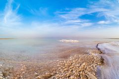 Salty coast of the Dead Sea. Salty coast of the Dead Sea, Israel Royalty Free Stock Photography