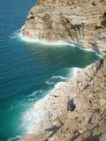 Salty Coastline Royalty Free Stock Photos