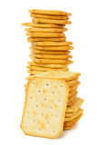 Salty cracker Royalty Free Stock Image