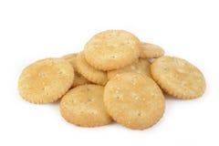 Salty cracker Stock Image