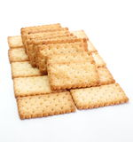 Salty Crackers Royalty Free Stock Photography