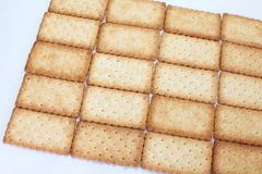 Salty Crackers Royalty Free Stock Photos