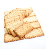 Salty Crackers Royalty Free Stock Images