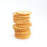 Salty Crackers Stock Photography