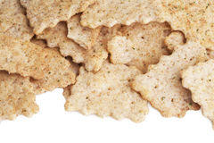 Salty crackers Stock Photo