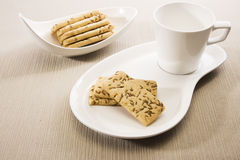 Salty Cumin Cookies Stock Image