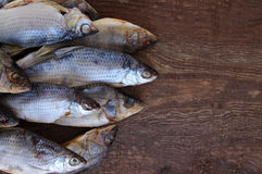 Salty dry river fish Stock Images