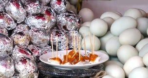 Salty Duck Eggs Royalty Free Stock Photos