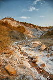 Salty hills at Lopatari Stock Photos