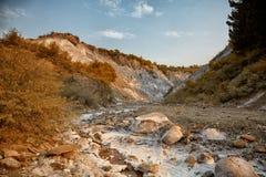 Salty hills at Lopatari Royalty Free Stock Image