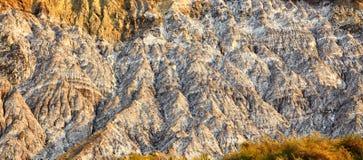 Salty hills at Lopatari Royalty Free Stock Photography