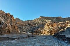 Salty mountains in the Atacama Desert, Chile Stock Photo