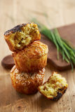 Salty muffins with spices Royalty Free Stock Photos