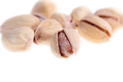 Salty nuts of pistachio. Stock Images