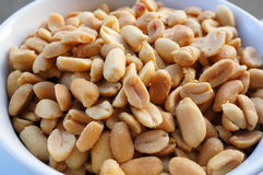 Salty peanuts Stock Photo