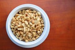 Salty peanuts Royalty Free Stock Image