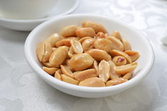 Salty Peanuts Royalty Free Stock Photo