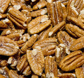 Salty Pecans Royalty Free Stock Photos