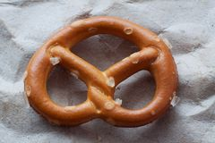 Salty pretzel Royalty Free Stock Photo