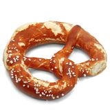 Salty Pretzel Royalty Free Stock Photos