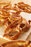 Salty pretzels Royalty Free Stock Photo