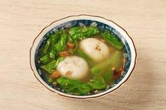Salty rice ball Stock Image