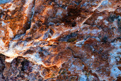 Salty Rocks Surface Texture Background Stock Photos