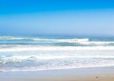 Salty sea spray summer sun beach background Stock Photo