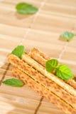 Salty sesame sticks Stock Photo
