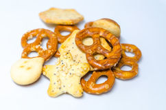 Salty Snacks Stock Photography