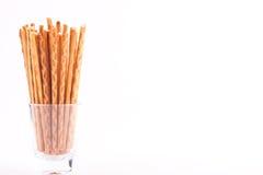 Salty stick crackers Stock Photo