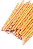 Salty stick crackers Royalty Free Stock Photography