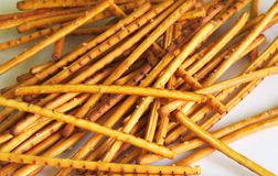 Salty sticks Royalty Free Stock Image