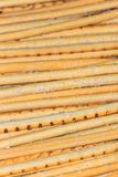 Salty sticks. Vertical orientation Royalty Free Stock Image
