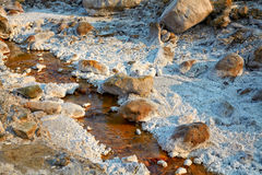 Salty stream near Lopatari Royalty Free Stock Image