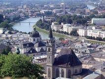 Saltzburg, Oostenrijk Stock Afbeeldingen
