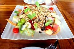 Salud de la comida de la ensalada foto de archivo libre de regalías