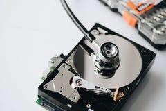Salud de la unidad de disco duro Imagen de archivo libre de regalías