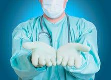 Salud del al de la ciencia de la medicina del corazón de Brain Doctor Imagen de archivo libre de regalías