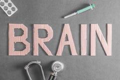 Salud del cerebro imagen de archivo libre de regalías