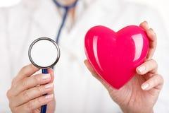 Salud del corazón Fotografía de archivo libre de regalías